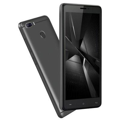 Cubot H3 4G Android 7.0 3GB 32GB 6000mAh Smartphone 5.0 Inch Fingerprint Dual Rear Cams Black